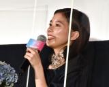 映画『Arc アーク』の公開初日舞台あいさつに参加した芳根京子 (C)ORICON NewS inc.
