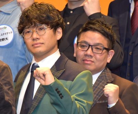 『神保町よしもと漫才劇場』記者発表会見に出席したミキ (C)ORICON NewS inc.