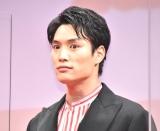 映画『東京リベンジャーズ』リベンジプレミアイベントに登壇した鈴木伸之 (C)ORICON NewS inc.