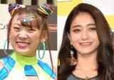 『2021上半期テレビ番組出演本数ランキング』で4&5位に輝いた(左から)フワちゃん、みちょぱ (C)ORICON NewS inc.