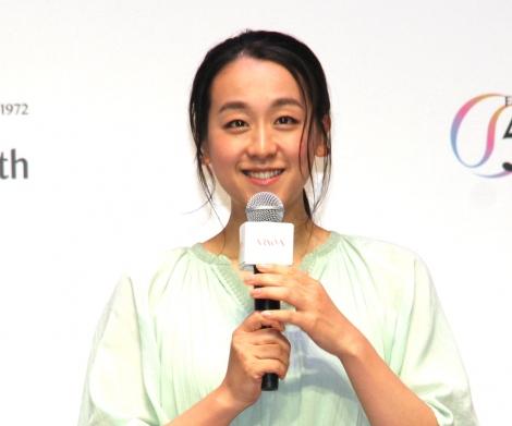 『アルソア ドリーム プロジェクト』スタートセレモニーに登場した浅田真央 (C)ORICON NewS inc.