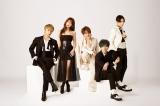 AAA(左から)與真司郎、宇野実彩子、西島隆弘、末吉秀太、日高光啓