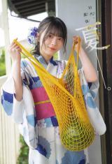 『週刊少年チャンピオン』31号の表紙を飾った櫻坂46・森田ひかる(C)秋田書店