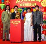 (左から)浅野忠信、妻夫木聡、鈴木保奈美、三浦友和 (C)ORICON NewS inc.
