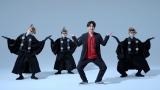 """映画『妖怪大戦争 ガーディアンズ』(8月13日公開)主題歌「ええじゃないか」(歌:いきものがかり)で""""妖怪ダンス""""を考案したDA PUMP・KENZO with 天狗ダンサーズの皆さん"""
