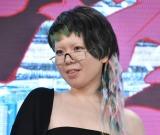 映画『竜とそばかすの姫』完成報告会見に出席した中村佳穂 (C)ORICON NewS inc.