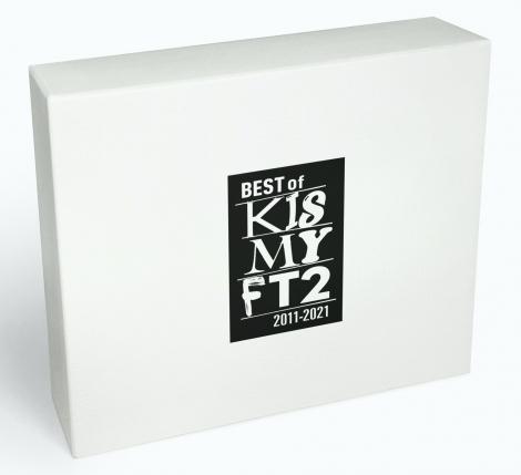 通常盤の「BEST of Kis-My-Ft2」のロゴは、4枚目のアルバム「KIS-MY-WORLD」から9枚目のアルバム「To-y2」までのタイトルロゴを使って構成