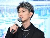 映画『竜とそばかすの姫』完成報告会見に出席した佐藤健 (C)ORICON NewS inc.