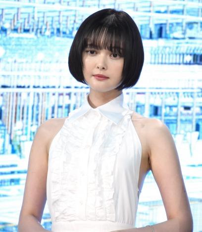 映画『竜とそばかすの姫』完成報告会見に出席した玉城ティナ (C)ORICON NewS inc.
