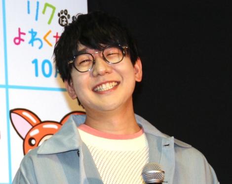 アニメ映画『リクはよわくない』取材会に出席した花江夏樹 (C)ORICON NewS inc.