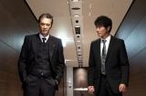 捜査一課係長の荻野照雄(加藤雅也/左)(C)テレビ東京