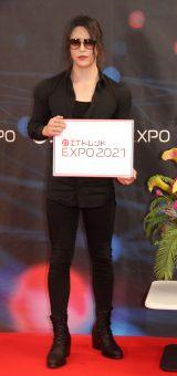 『IT トレンド EXPO2021 summer』に登場したローランド (C)ORICON NewS inc.