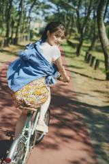 松村沙友理 卒業記念写真集『次、いつ会える』パネル展より「次、どこ行く?」(SHIBUYA EBISUBASHI)