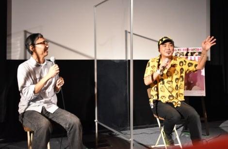 映画『ショック・ドゥ・フューチャー』トークイベントに出席した(左から)野田努編集長、石野卓球 (C)ORICON NewS inc.