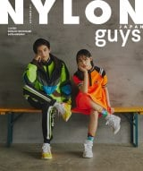 『NYLON JAPAN』9月号guysの表紙を飾る(左から)渡邊圭祐、南沙良(C)NYLON JAPAN