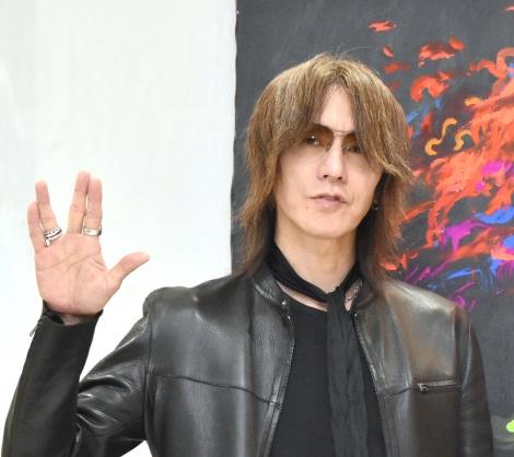 『アクリルボード・アート展』SPトークショーに出席したSUGIZO (C)ORICON NewS inc.