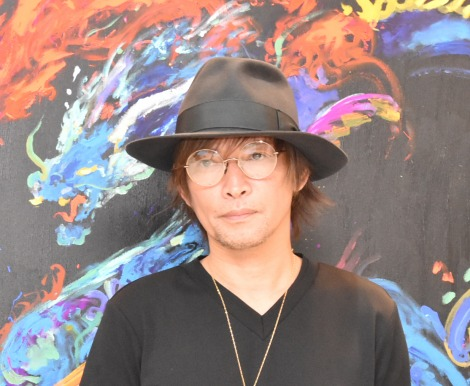 『アクリルボード・アート展』SPトークショーに出席したINORAN (C)ORICON NewS inc.