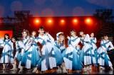 全員そろって改名後初の有観客ライブを開催した櫻坂46 Photo by 上山陽介