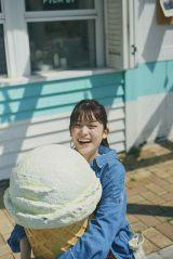 松村沙友理 卒業記念写真集『次、いつ会える』パネル展より「次、なにして遊ぶ?」(旭屋書店なんばCITY店)