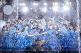 野外ならではの大放水の演出も=『W-KEYAKI FES.2021』最終日 Photo by 上山陽介