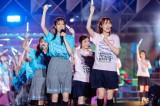ラスト「W-KEYAKIZAKAの詩」は櫻坂46と日向坂46がコラボ=『W-KEYAKI FES.2021』最終日 Photo by 上山陽介