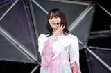 20歳になって最初のライブとなった櫻坂46の森田ひかる=『W-KEYAKI FES.2021』最終日 Photo by 上山陽介
