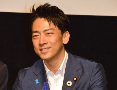 映画『犬部!』獣医学部学生ティーチインイベントに登壇した小泉進次郎環境大臣 (C)ORICON NewS inc.