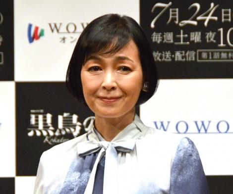 『連続ドラマW 黒鳥の湖』完成報告会に参加した財前直見 (C)ORICON NewS inc.