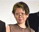 映画『竜とそばかすの姫』初日舞台あいさつに登壇した中村佳穂 (C)ORICON NewS inc.