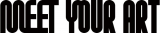 アート専門番組『MEET YOUR ART』番組ロゴ