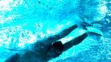 競泳世界選手権6冠を達成し、東京オリンピックでも活躍が期待されるケレブ・ドレセル選手の「無呼吸泳法」カギを握るのは意外な筋肉だった(C)NHK