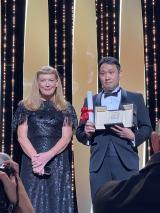 第74回カンヌ国際映画祭で脚本賞を受賞した『ドライブ・マイ・カー』濱口竜介監督(C) Kazuko WAKAYAMA
