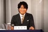 三池崇史氏との再タッグに喜びを見せた高橋克典 撮影:田中亜紀
