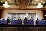 舞台『醉いどれ天使』の製作発表記者会見の模様 撮影:田中亜紀