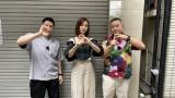 『幸せ!ボンビーガール』に出演するチョコレートプラネットと朝日奈央 (C)日本テレビ