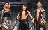『MANGEKYO PROJECT 2021』の新作『W-1』で共演する西川貴教と和太鼓集団DRUM TAO(C)ORICON NewS inc.