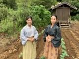 地元住民もエキストラとして撮影参加(C)NHK