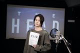 Huluオリジナル「THE HEAD』のアフレコに挑戦する山下智久 (C)Hulu Japan
