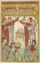 ヤコブ・マイデンバッハ『健康の庭』 1491年 大英図書館蔵(C)British Library Board