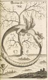 R.アブラハム・エレアツァール『太古の化学作業』 1735年 大英図書館蔵(C)British Library Board