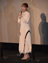 『犬部!』初日舞台あいさつに出席した大原櫻子 (C)ORICON NewS inc.