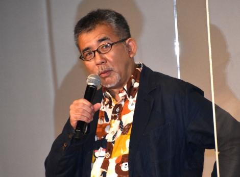 『犬部!』初日舞台あいさつに出席した篠原哲雄監督 (C)ORICON NewS inc.