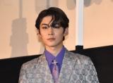 『サイダーのように言葉が湧き上がる』初日舞台あいさつに出席した市川染五郎 (C)ORICON NewS inc.