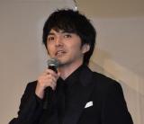 『犬部!』初日舞台あいさつに出席した林遣都 (C)ORICON NewS inc.