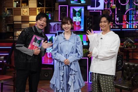 23日放送『MUSIC BLOOD』ゲストは鈴木愛理(C)日本テレビ