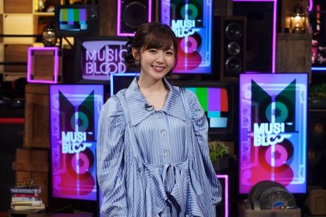 鈴木愛理=23日放送『MUSIC BLOOD』より(C)日本テレビ
