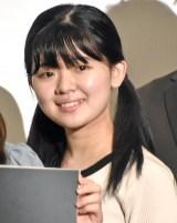 映画『かば』初日舞台あいさつに登壇したさくら若菜 (C)ORICON NewS inc.