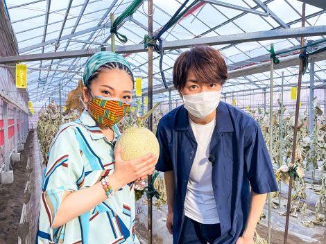 『1億3000万人のSHOWチャンネル』に出演するMISIAと櫻井翔 (C)日本テレビ