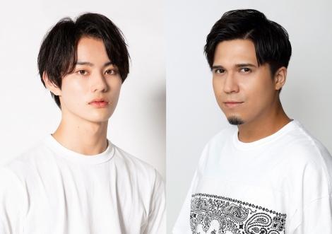 9月5日からスタートの『仮面ライダーリバイス』に主演する前田拳太郎(左)と相棒の声を務める木村昴
