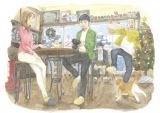 柴山健次監督の実兄・柴山智隆によるイメージボード(C)2022映画『今はちょっと、ついてないだけ』製作委員会 画・柴山智隆